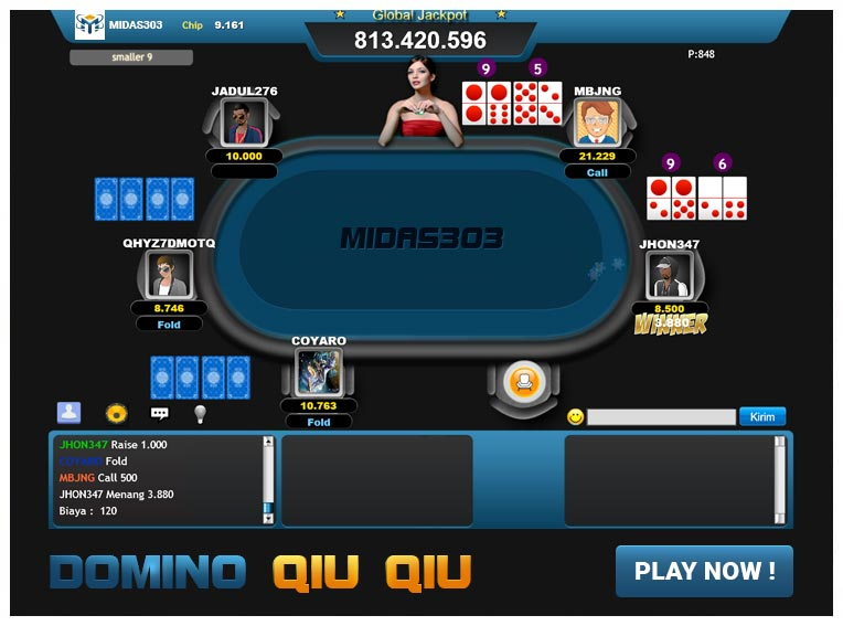 Midas303™ Domino Qiu Qiu